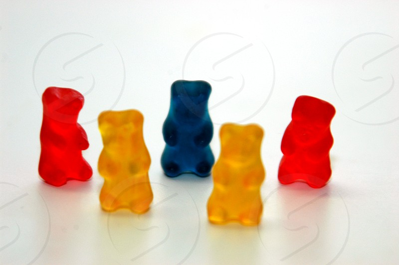 Gummy bear candy photo