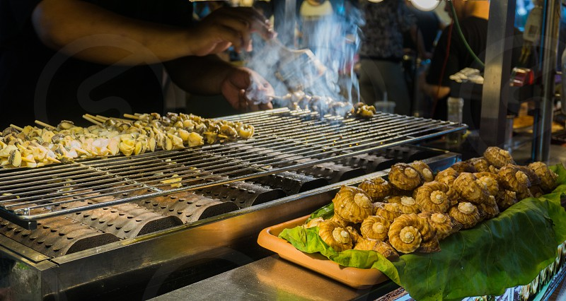 Barbecued photo