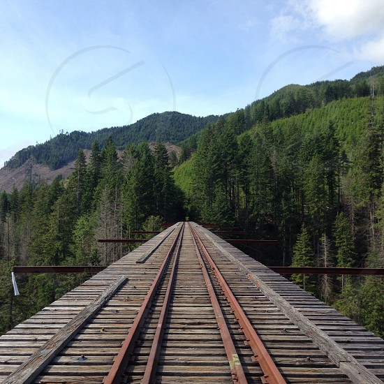 view of the railroad photo