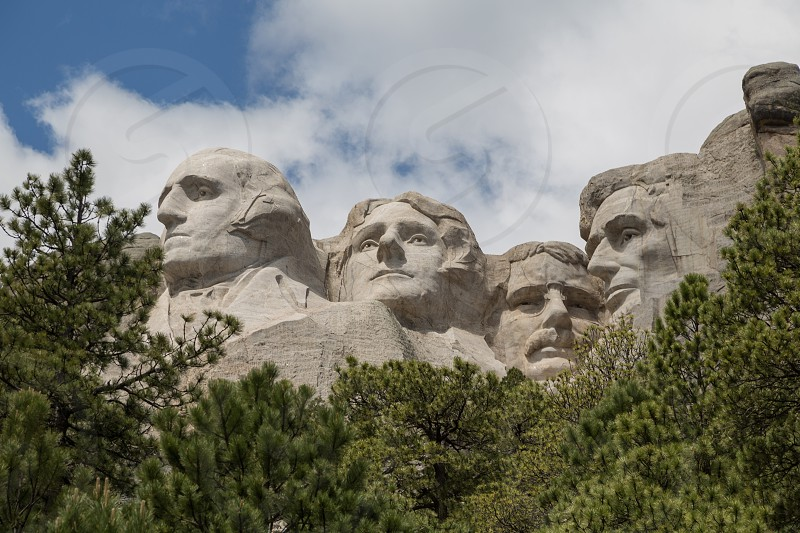 Mount Rushmore National Monument near Rapid City South Dakota photo