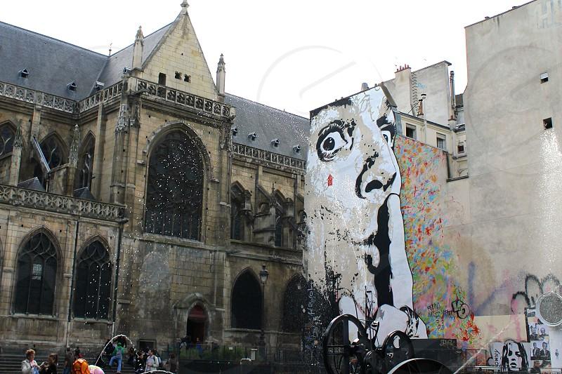 Paris street art photo