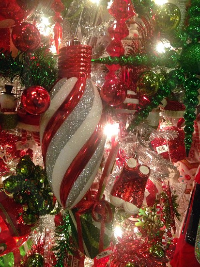 assorted christmas decorations photo