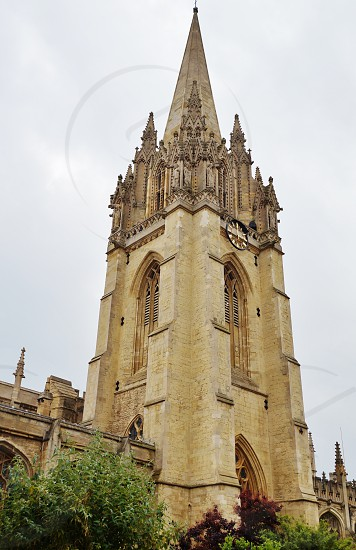 University Church of St Mary the Virgin in Oxford England photo