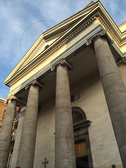 Catholic Church in Charleroi city photo