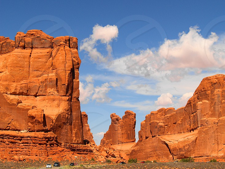 usa - arches national park photo