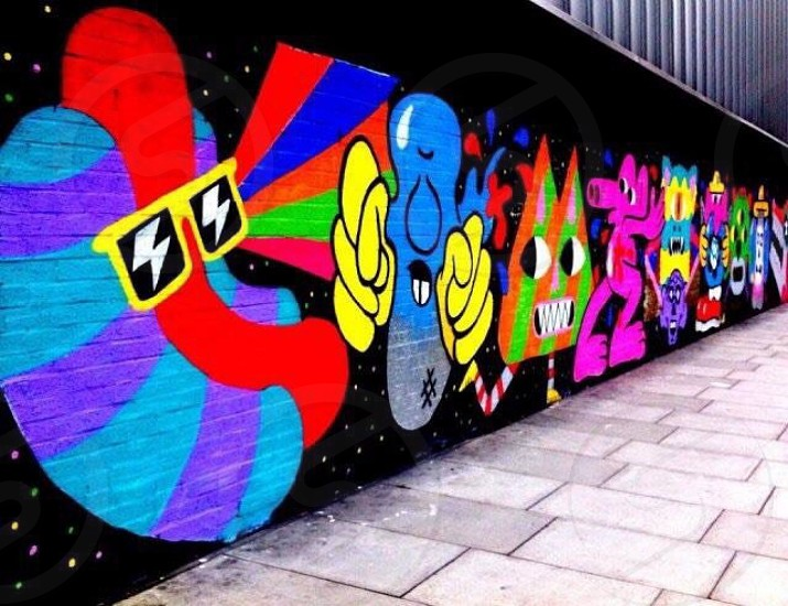 Shoreditch Graffiti photo