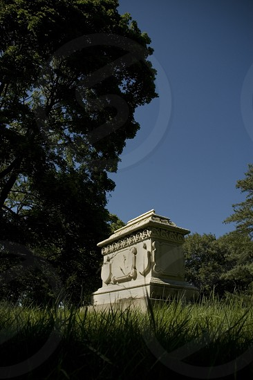 cemetery headstone monument death remembrance tomb tombstone new york Brooklyn dream photo