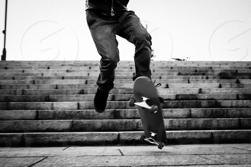 Sk8e at Park in Tokyo Japan skate boader photo