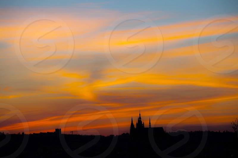 Sunset over Prague Czech Republic. #ReasonsToTravel photo