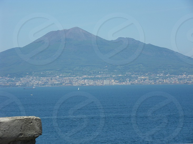 Gulf of Naples on a Summer day photo