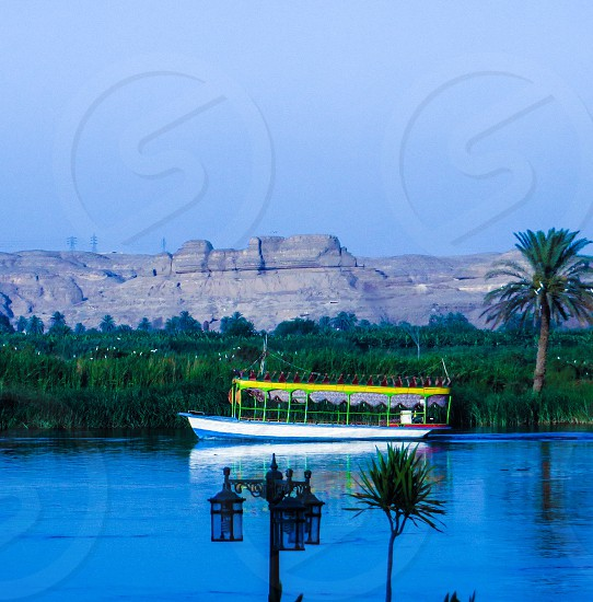 River Boat Nile Egypt Travel Tourism Outdoor photo