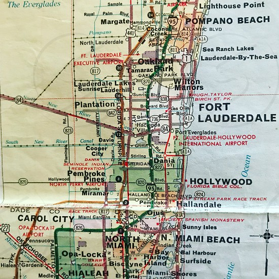 Florida USA America state Fort Lauderdale  Hollywood south east Pompano Beach  80th photo