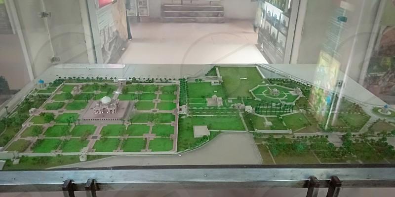 A prototype map of Humanyun Timb photo