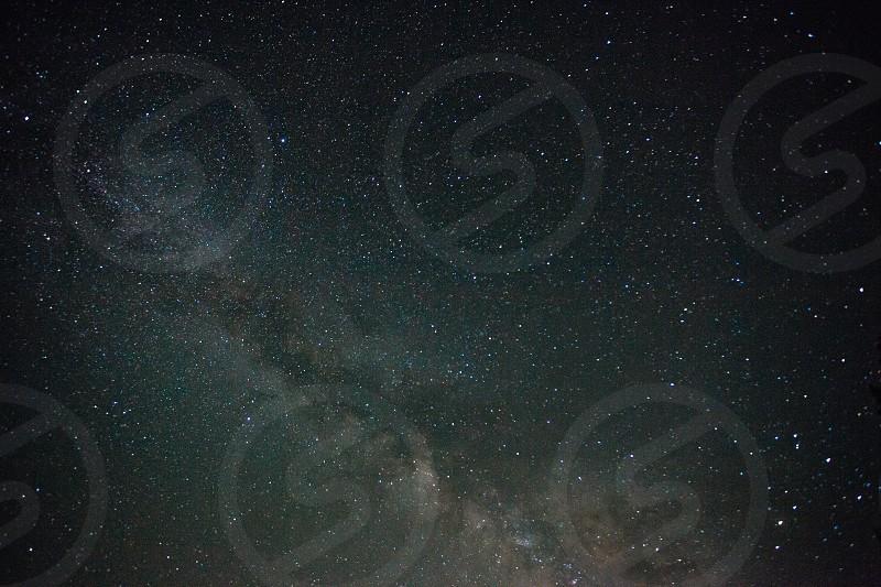 Milky way galaxy photo