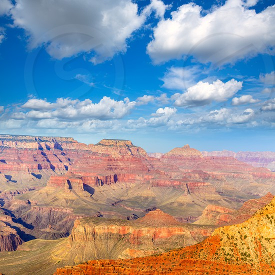 Arizona Grand Canyon National Park Mother Point in USA photo