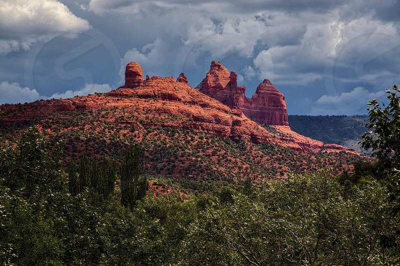 Mountains at Sedona Arizona photo