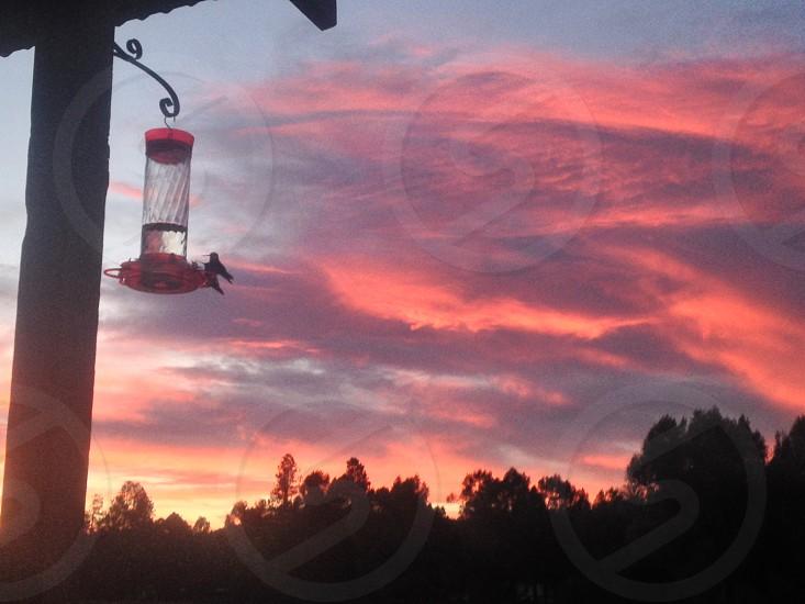 Luna NM sunset photo