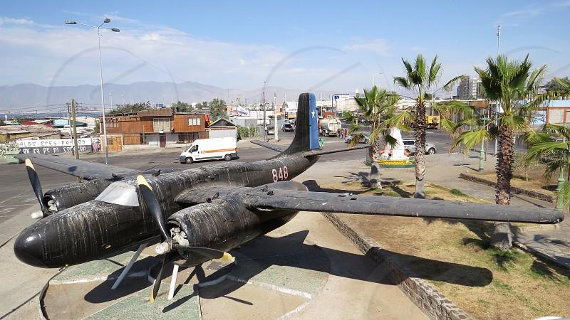 chile Mejillones Avión Plane photo