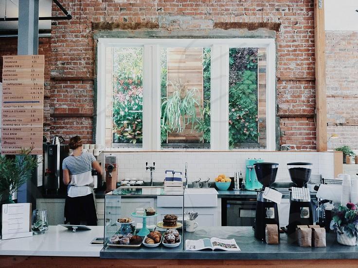 the interior at Scout Coffee in San Luis Obispo CA photo