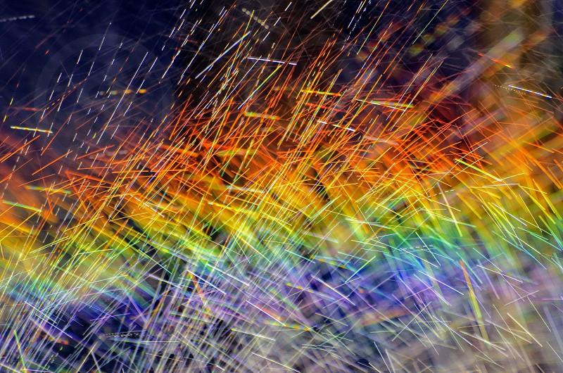 Vibrantrainbowabstract photo