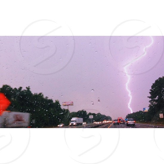 Lightening storm headed toward Atlanta GA photo