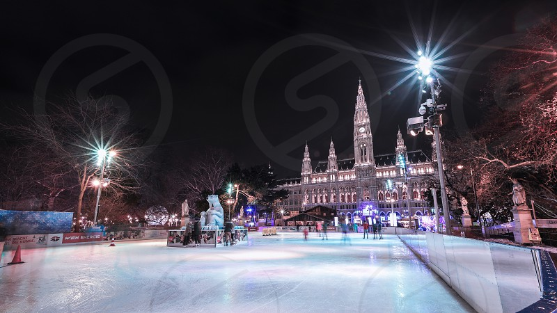 Vienna - Eistraum (Ice dream) photo