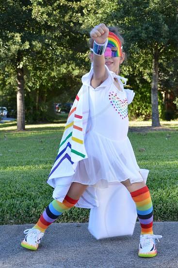Rainbow Girl protects! photo