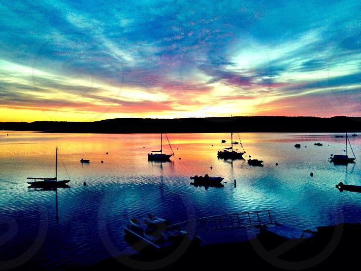 Sunrise in Maine  photo