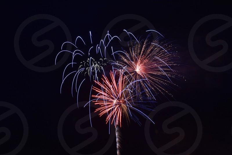 Fireworks fourth 4th July  photo
