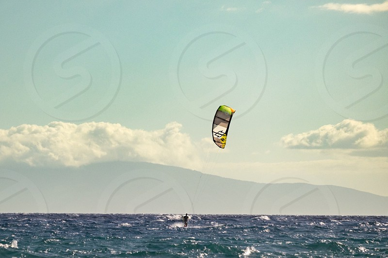 Windsurfing Maui Hawaii tropical  photo