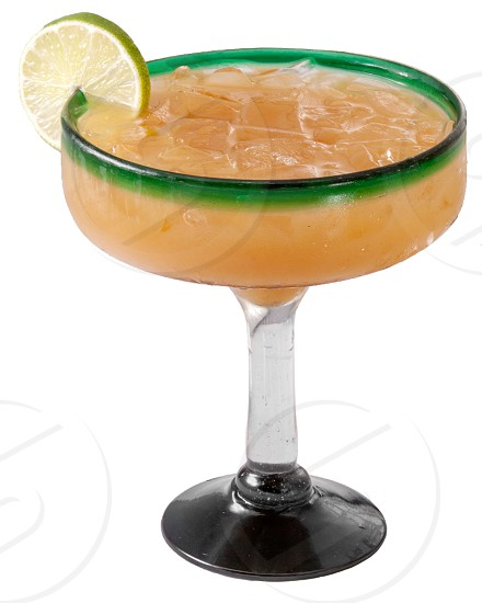 Mexican drink on white background photo