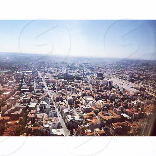 Pescara Italy. Aerial view. photo