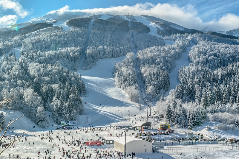 Winter Scenery - Bjelasnica Bosnia and Herzegovina photo