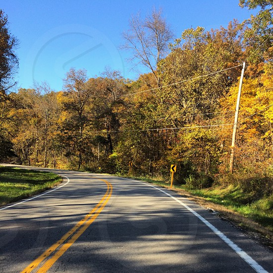 Taking the back roads in the fall photo
