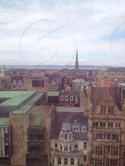 Edinburgh from the festival wheel  photo
