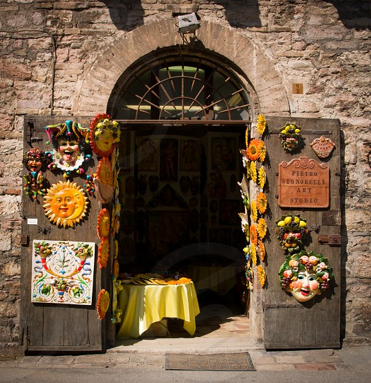 Italian Doorway photo