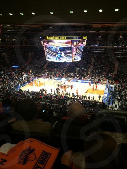 Knicks game! photo