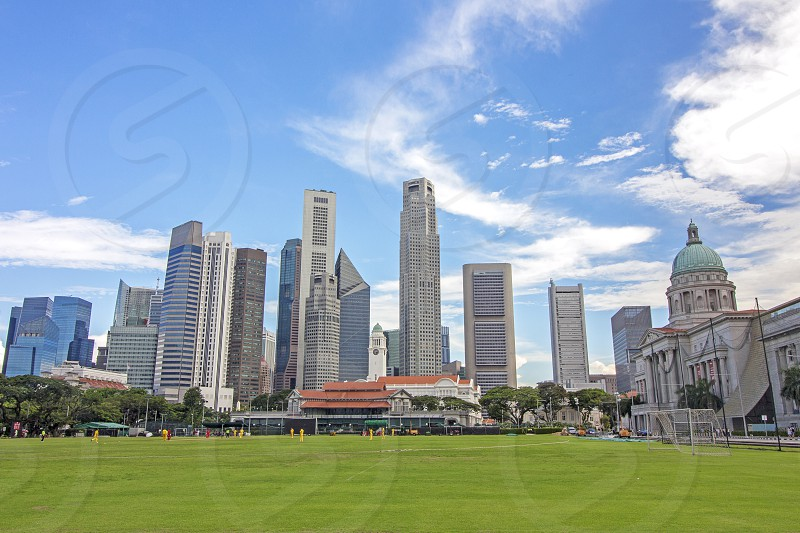 Singapore cricket field photo