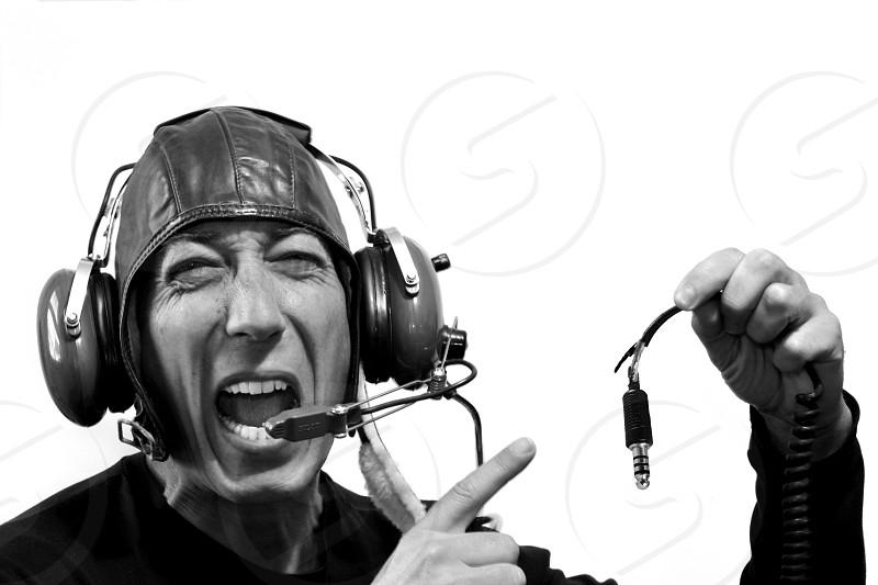 pilot broken communications Bad decision Candid weird photo