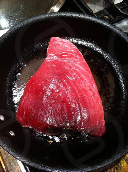 Tuna in a pan! photo
