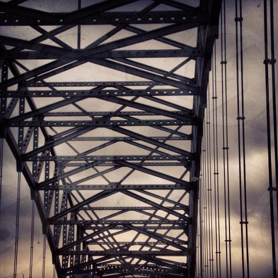 IL river bridge  photo