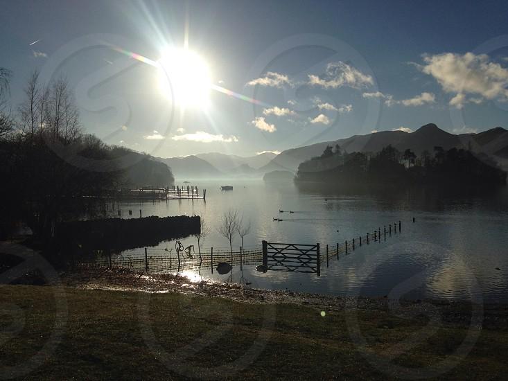 Keswick lake photo