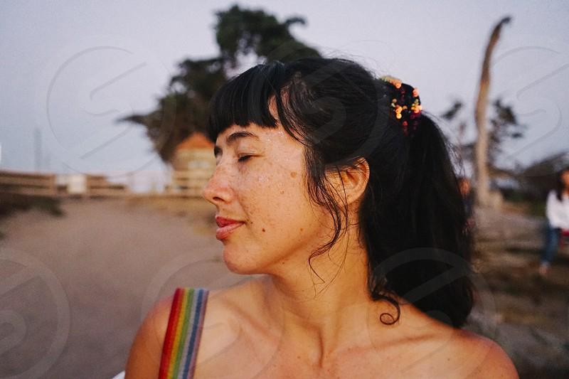 A day at the beach in Santa Monica photo