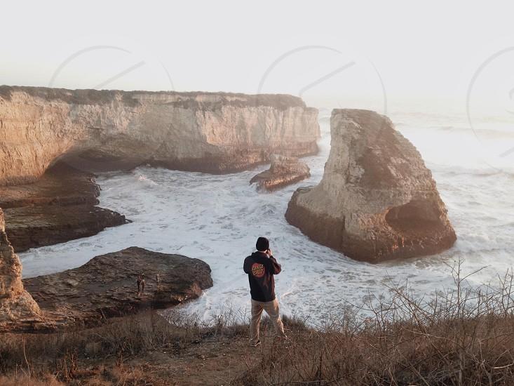 Shark Fin Cove. Using M5. photo
