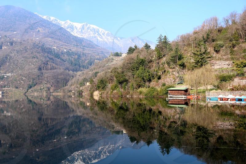 Mirror of the mountains photo