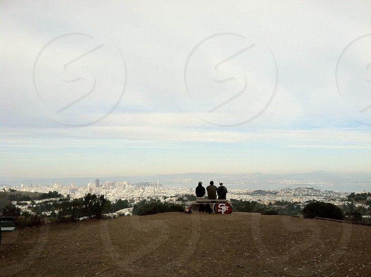 View of Downtown from Mt. Davidson photo