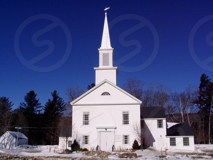 white church photo