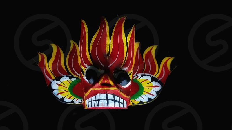 Devil mask photo