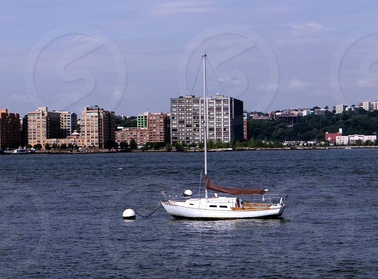 sailboat boat  river photo