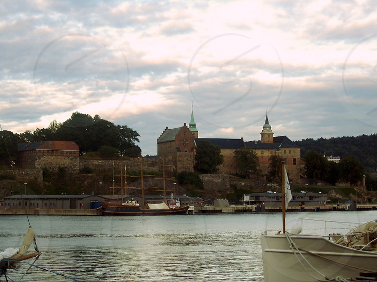 Akershus Fortress in Oslo in August 2005 photo